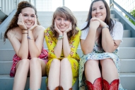 My little sister, Haley, me, and my best friend basically my other little sister, Kendra