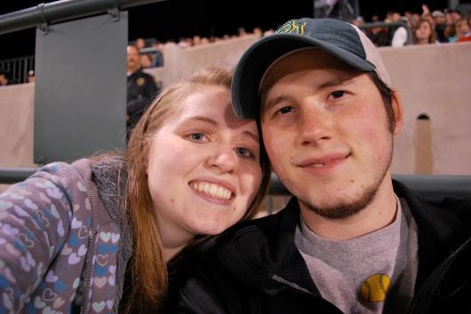 Baylor Baseball Game, 2009
