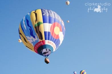 Hot Air Balloons from the Colorado Springs Balloon Classic