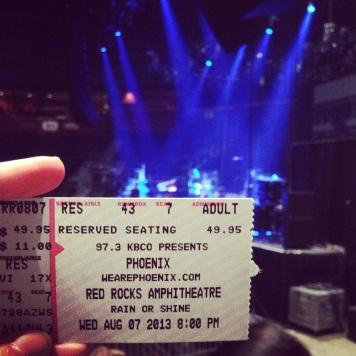 Phoenix Concert, 2013