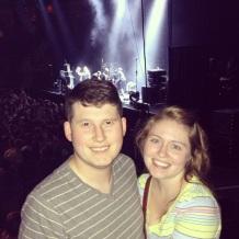 Us at the Phoenix Concert, 2013