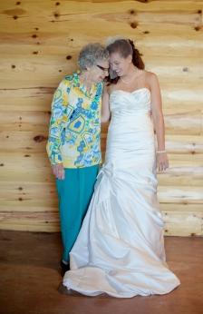 Haley + Great Grandma July 2012