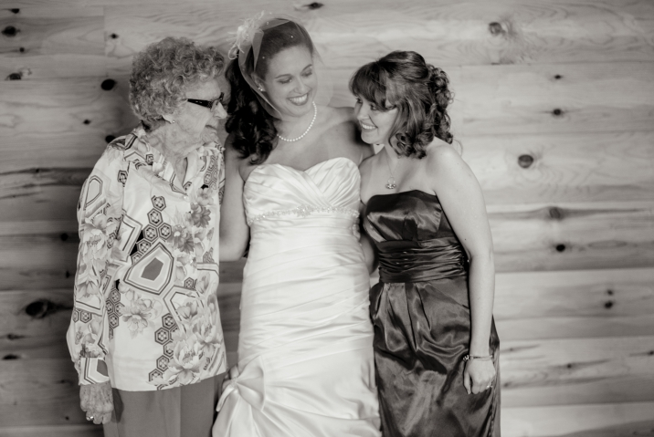 Great Grandma, Haley and Shelby July 2012