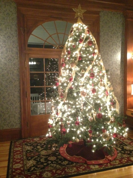 Christmas Tree at The Stanley Hotel, Dec 2013