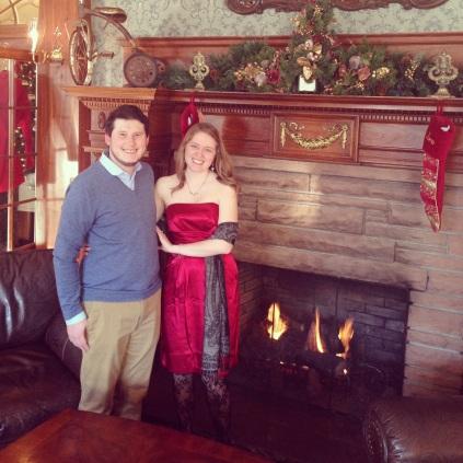 Hubby and Me, Estes Park, CO December 2013
