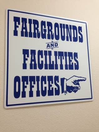 Signs to our Offices
