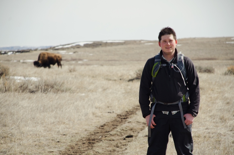 hike, North dakota, travis, buffalo, 2013, road trip,