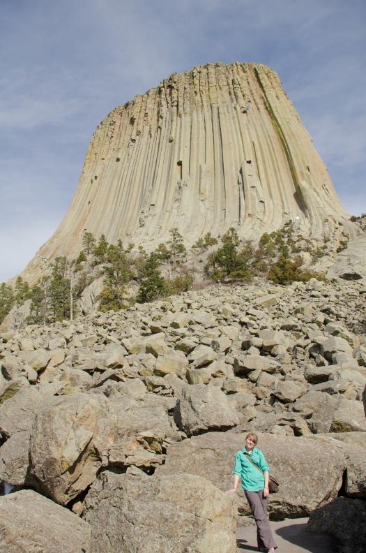 hike, devils' tower, Wyoming, 2013, road trip,