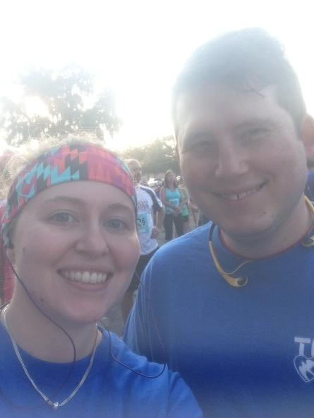Modesto 2 mile Run and Ride, October 2014