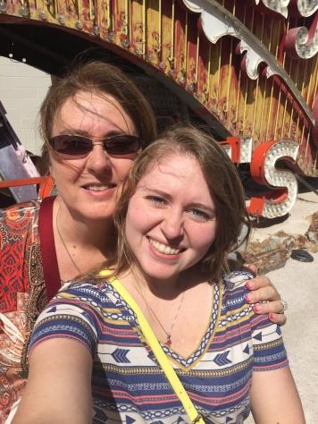Mom and Me Selfie