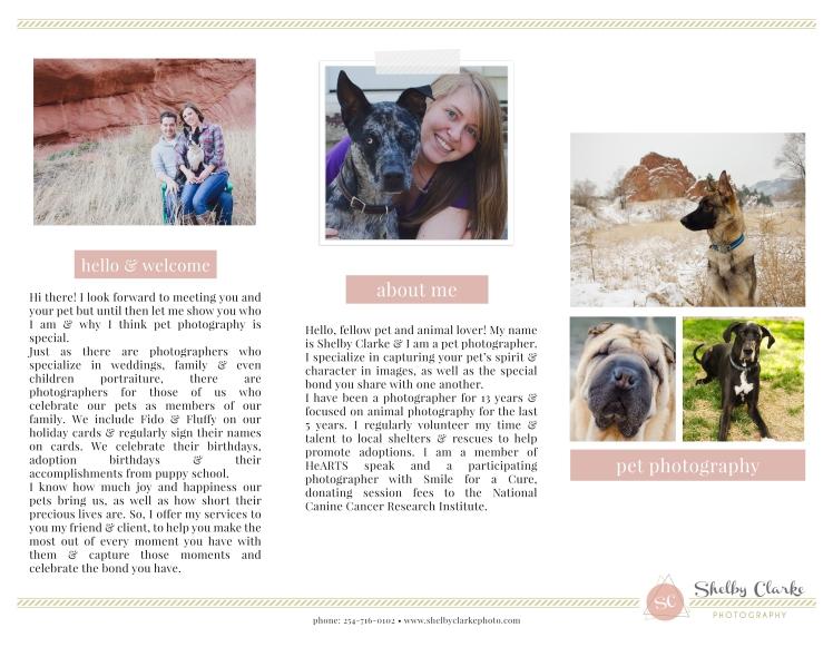 Shelby Clarke Photo-Tri-Fold Brochure-Outside