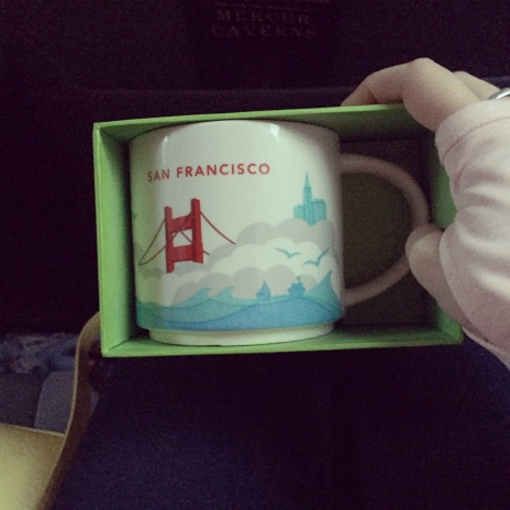 San Fransisco Mug, only took going to 3 Starbucks to find!
