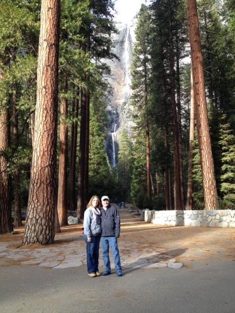 Mom and Dad at Yosemite