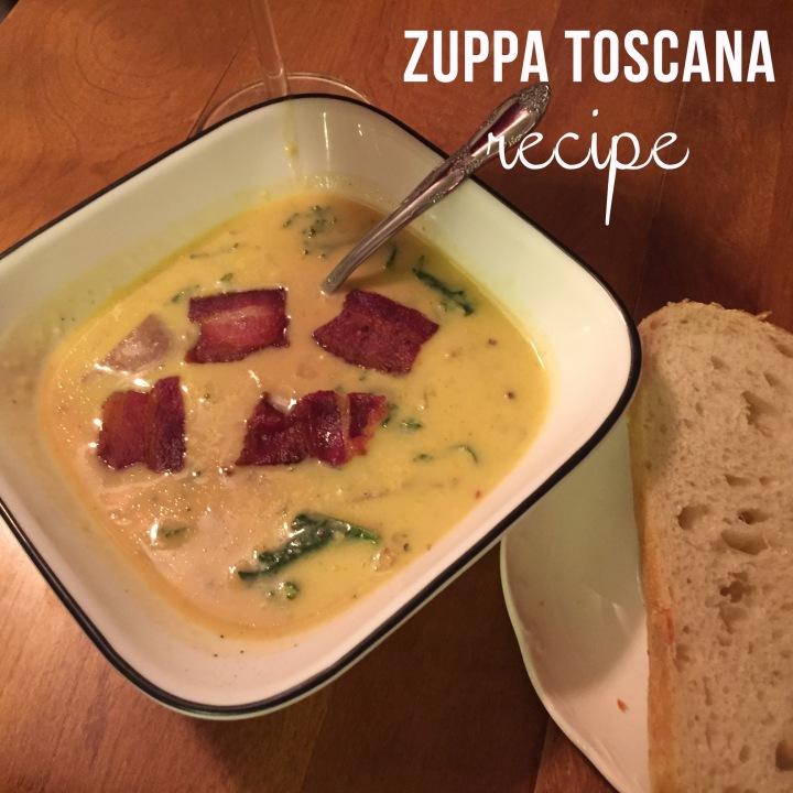 zuppa Toscana recipe pin