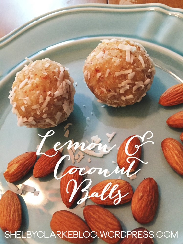 Lemon Coconut Balls | Adventurous Shelby Blog