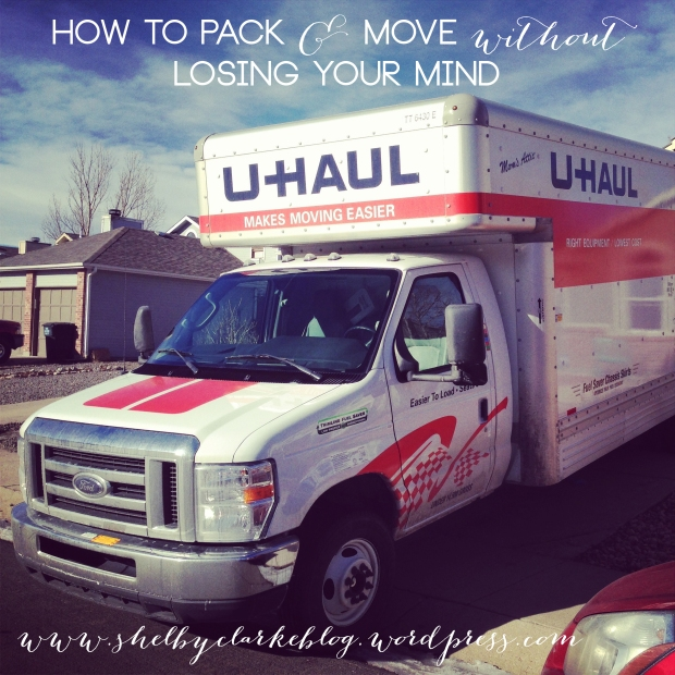 How to Move without losing your Mind: Packing 101