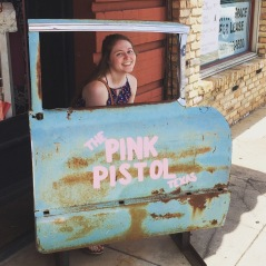 At the Pink Pistol