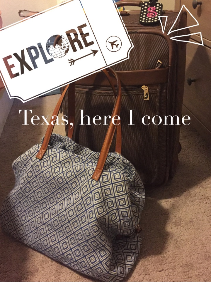 Texas, here I come
