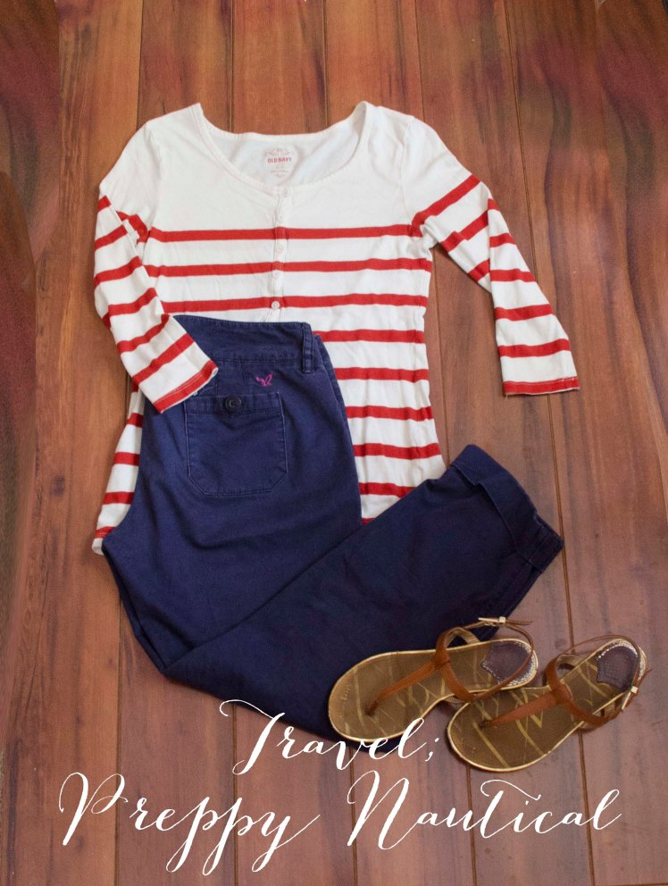 Adventurous Shelby |Preppy Nautical