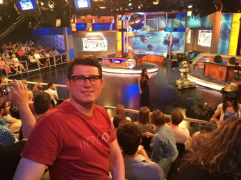 Travis at the Daily Show Taping