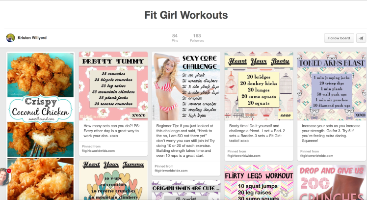 Work from Home Fit Pinterest Inspiration