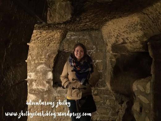 Catacombs in Paris, 2015