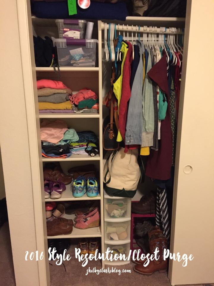 2016 My Closet Project