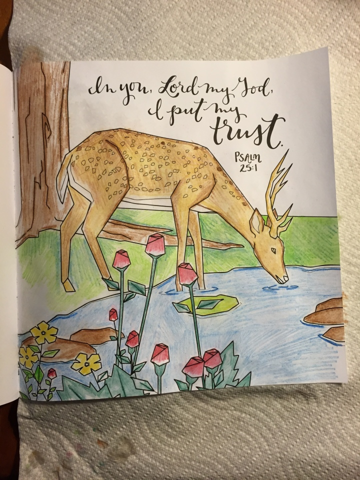 Whatever is Lovely- watercolor