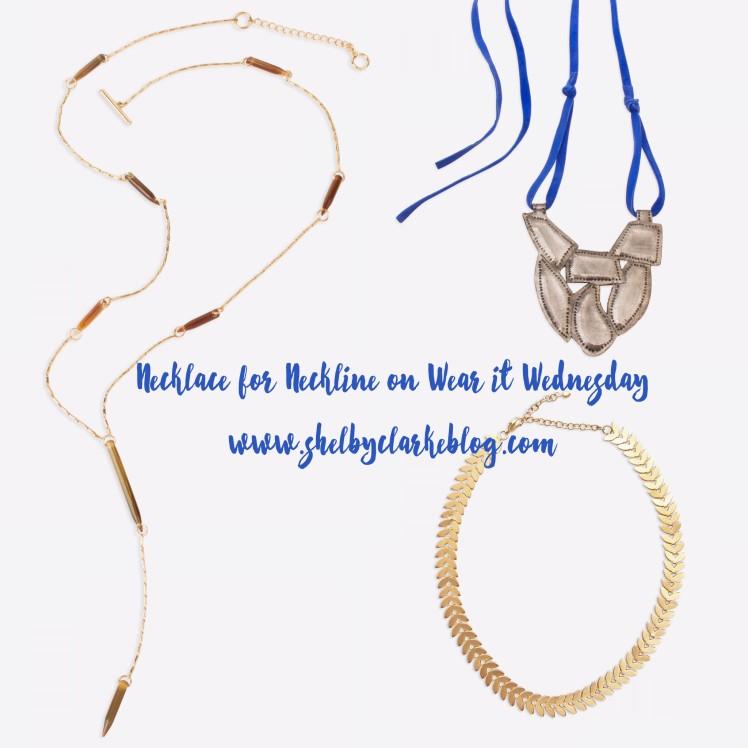 Necklace for Neckline
