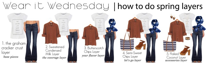wear it wednesday how to do spring layers