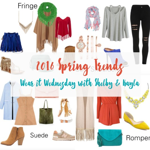 2016 Spring Trends on Adventurous Shelby