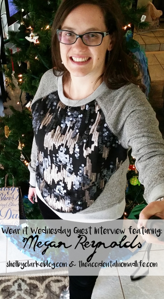 wear it wednesady interview Holiday Party Sequin Outfit 1