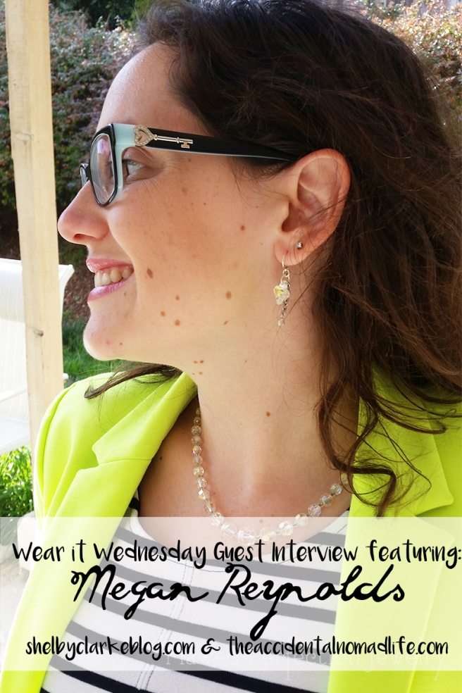 wear it wednesday interview Neon and Stripes