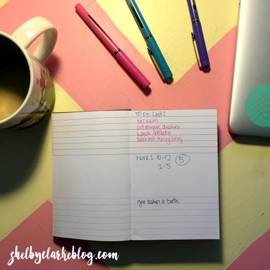Ice Cream Notebook Blog