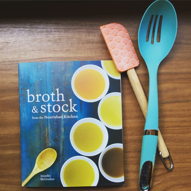 Broth & Stock cookbook from Jennifer McGruther from the Nourished Kitchen