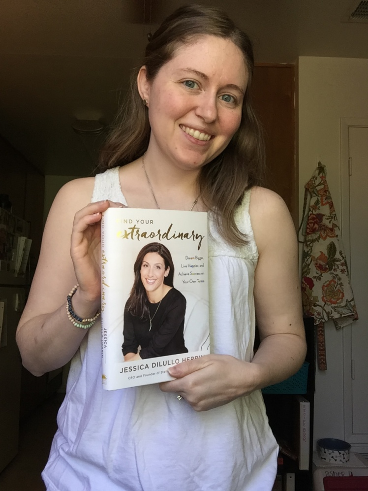 Shelby with Finding your Extraordinary