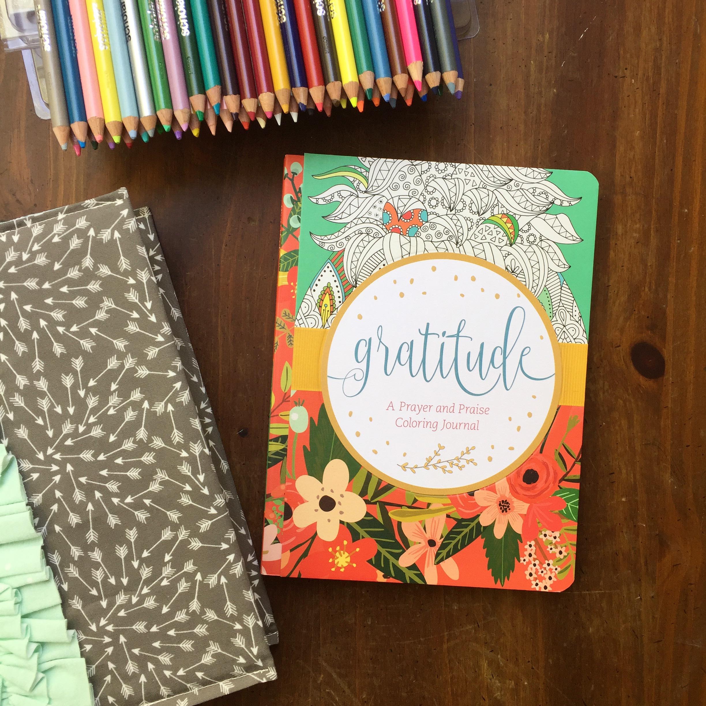 Gratitude – a prayer & praise coloring journal – Stylishly