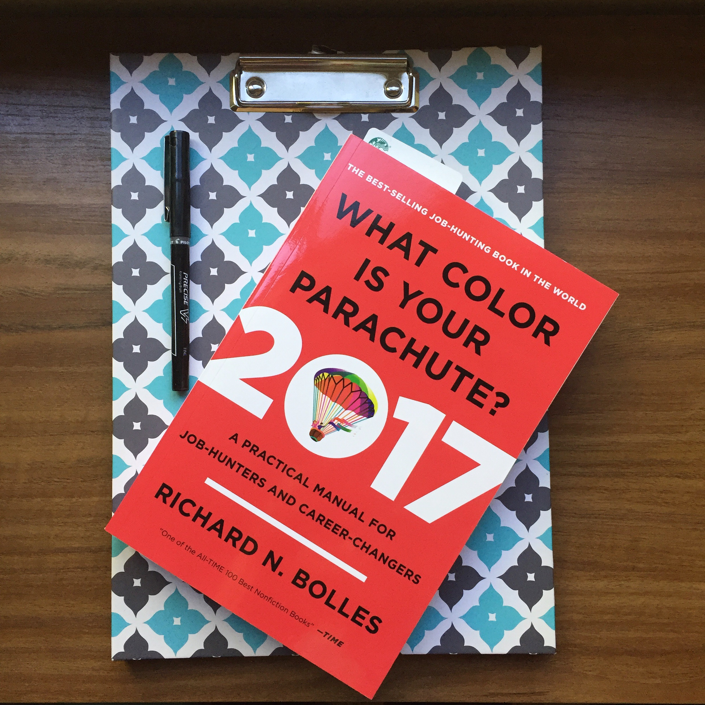 Finished Reading: What Color is your Parachute? 2017
