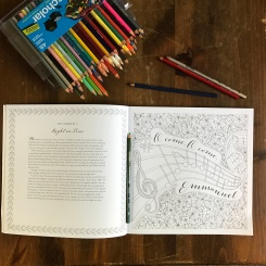 Daily reading & Coloring