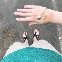 Sseko Brave Bracelet with Serenity Charm