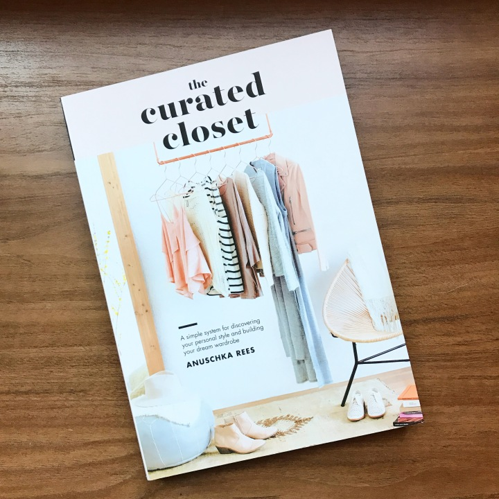 The Curated Closet Book Review on Adventurous Shelby Blog