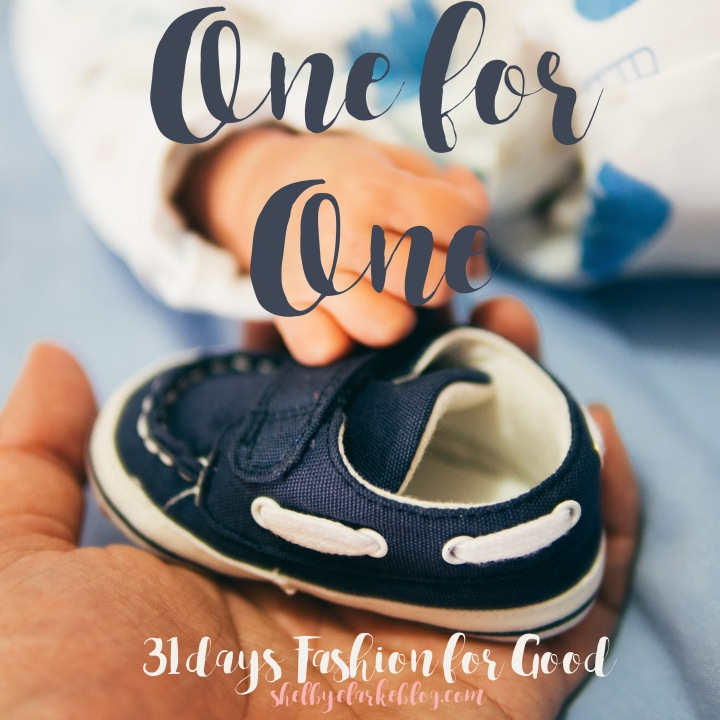 One for One |Adventurous Shelby Blog