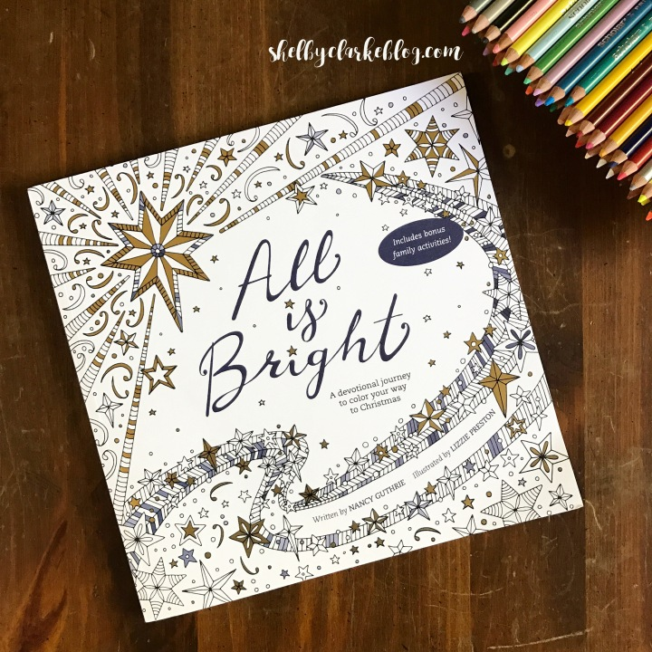 All is Bright Coloring Book review