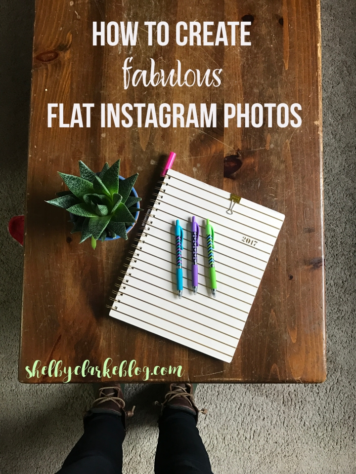 How to create fabulous flat lay images for Instagram from Shelby on ShelbyClarkeBlog.com