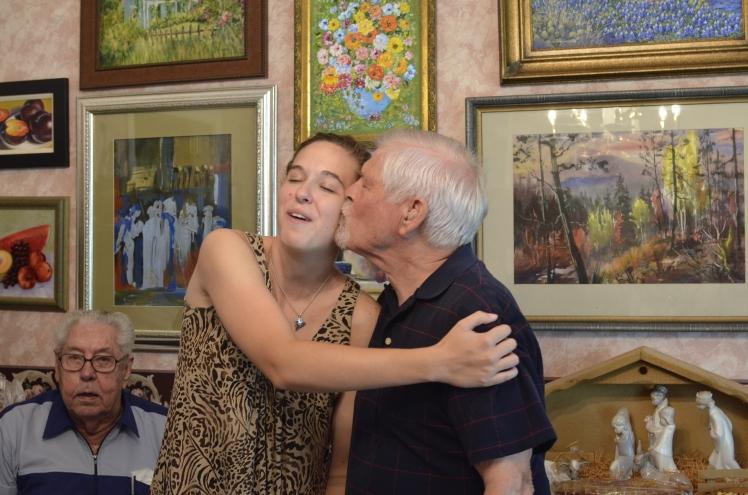 Haley & Grandpa 2012