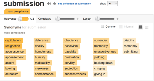 Submission Definition