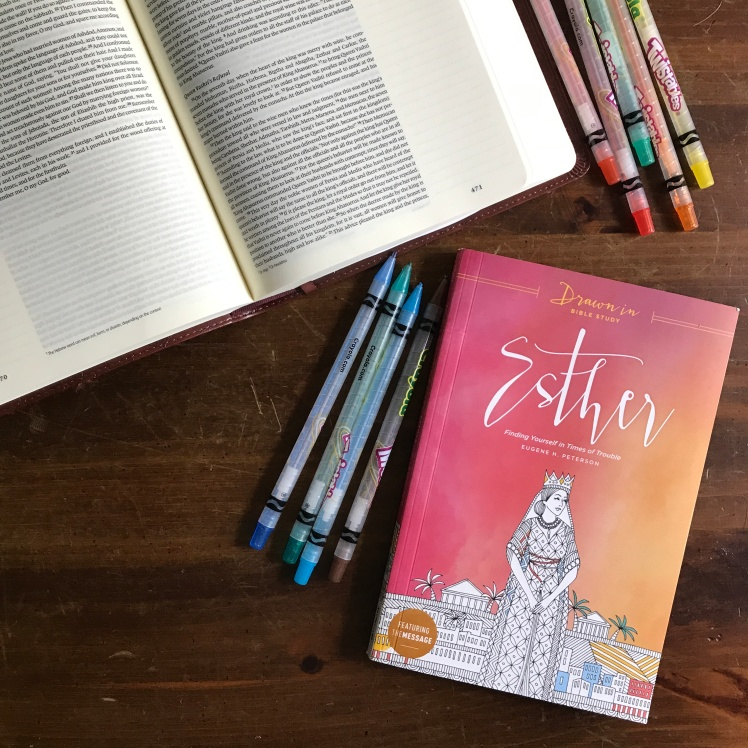 Finished Reading Drawn In Bible Study Esther Stylishly Shelby