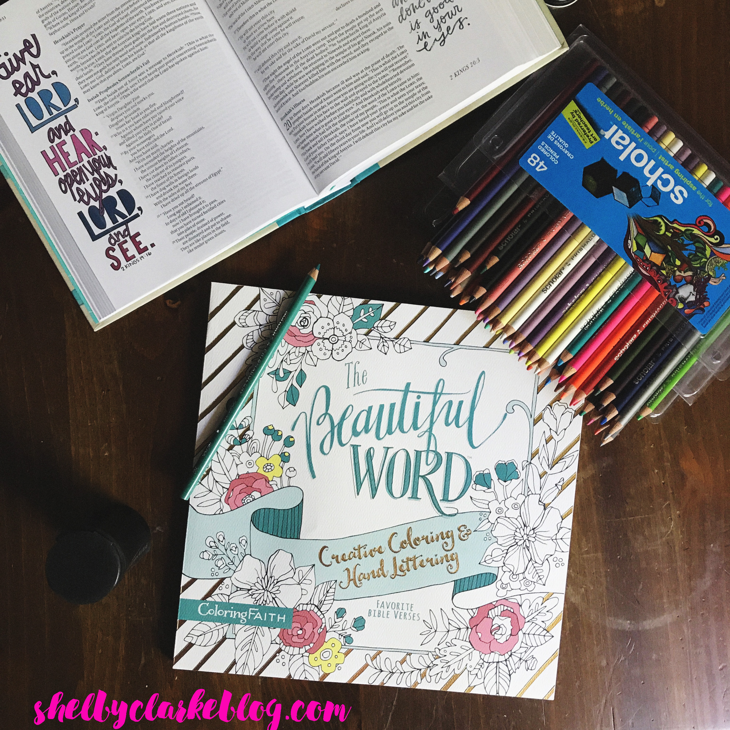 Book Review The Beautiful Words Coloring