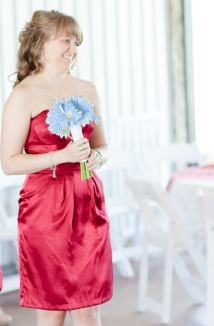 Bridesmaid dress for Haley's Wedding 2012