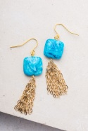 Pair of earrings from Starfish project